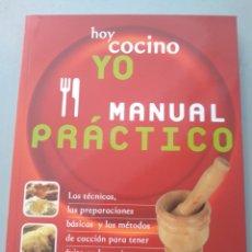 Libros: HOY COCINO YO. MANUAL PRÁCTICO. EVEREST 9788424128098. Lote 168808221