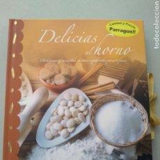 Libros: DELICIAS AL HORNO. PÁRRAGON. 9781445427645. Lote 168808824