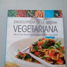 Libros: ENCICLOPEDIA DE LA COCINA VEGETARIANA. DE VECCHIO. 9788431550622. Lote 168912465