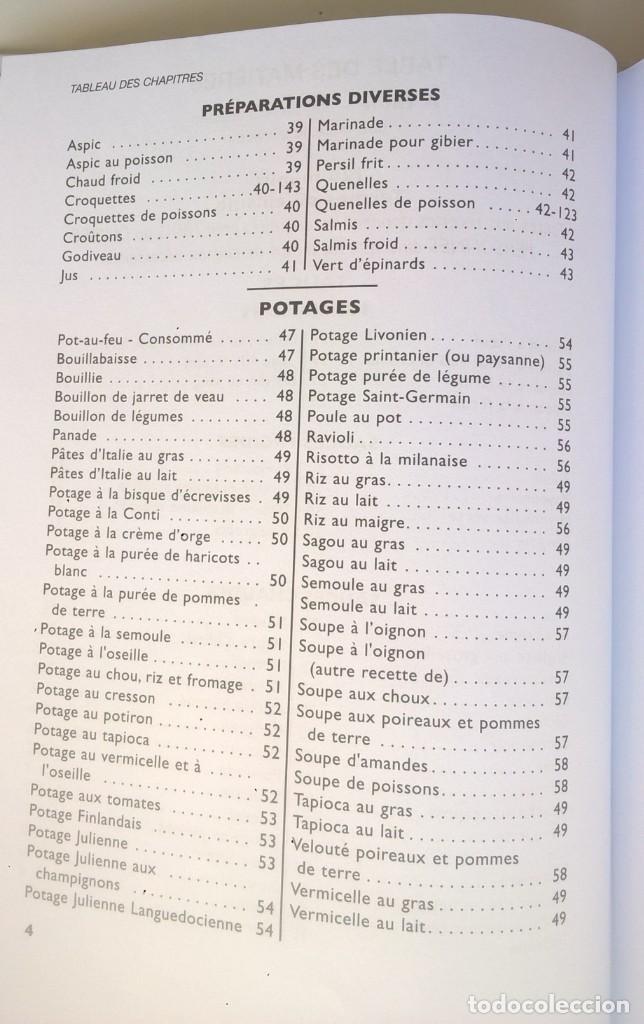 Libros: LA VÉRITABLE CUISINE TRADITIONELLE (1000 RECETES) PAR TANTE MARIE - AÑO 2004 (NOUVELLE ÉDITION) - Foto 9 - 170385440