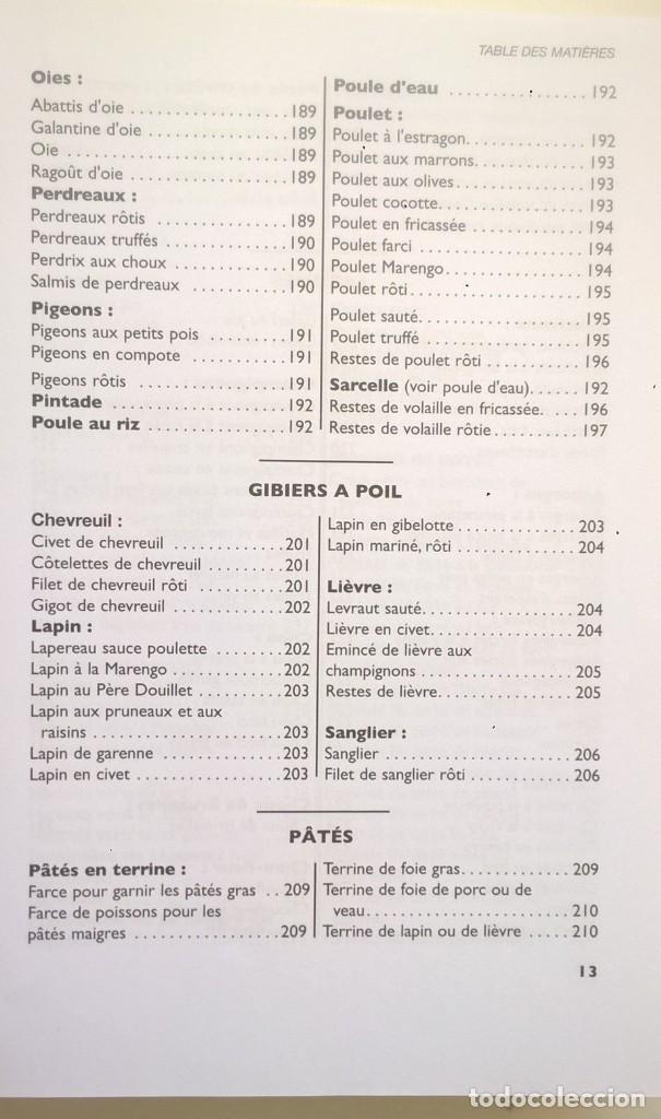 Libros: LA VÉRITABLE CUISINE TRADITIONELLE (1000 RECETES) PAR TANTE MARIE - AÑO 2004 (NOUVELLE ÉDITION) - Foto 18 - 170385440