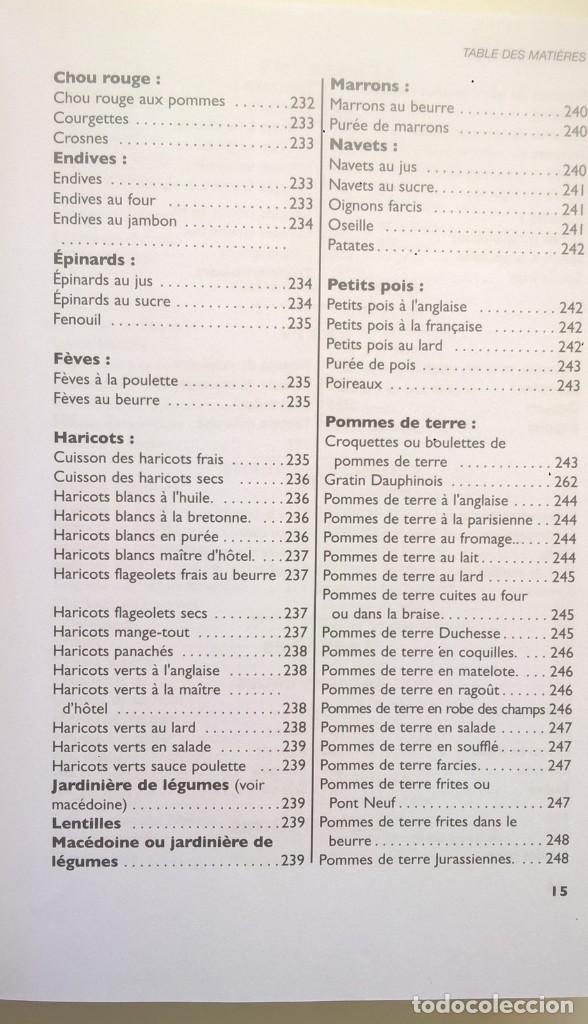 Libros: LA VÉRITABLE CUISINE TRADITIONELLE (1000 RECETES) PAR TANTE MARIE - AÑO 2004 (NOUVELLE ÉDITION) - Foto 20 - 170385440