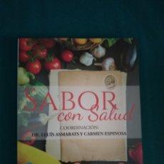 Libros: SABOR CON SALUD, NUEVO. Lote 172033655