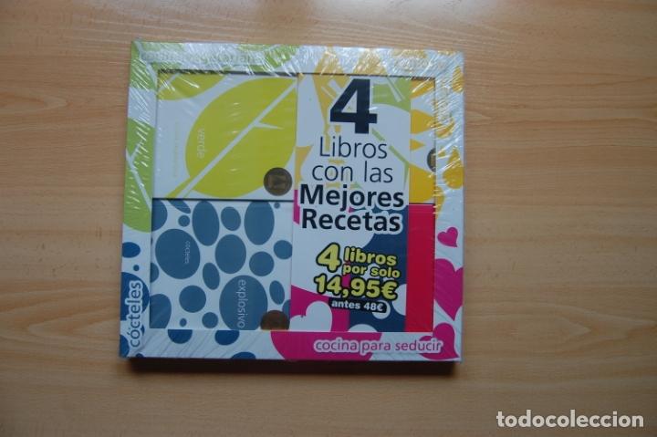 4 LIBROS CON LAS MEJORES RECETAS. ED. EVEREST. (Libros Nuevos - Ocio - Cocina y Gastronomía)