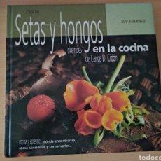 Libros: SETAS Y HONGOS DUENDES EN LA COCINA. NUEVO. Lote 177720853