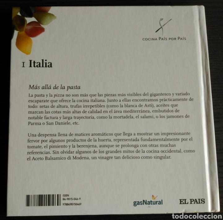 Libros: Cocina País por País. 01 - Italia - Foto 2 - 177945313