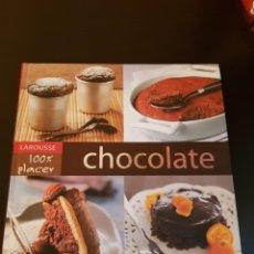 Libros: LIBRO DE RECETAS 'CHOCOLATE'. Lote 178618835