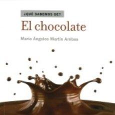Libros: EL CHOCOLATE. Lote 179251821