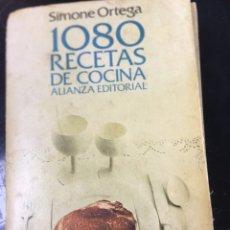 Libros: 1080 RECETAS DE COCINA - SIMONE ORTEGA - LIBRO DE BOLSILLO . Lote 179380831