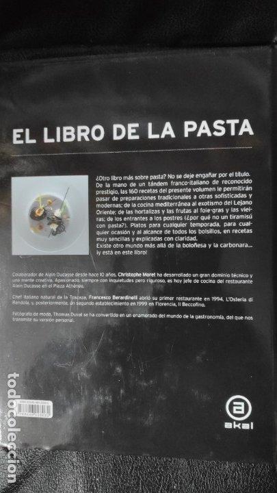 Libros: EL LIBRO DE LA PASTA - Foto 2 - 180012630