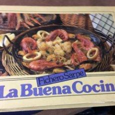 Libros: FICHERO SARPE - LA BUENA COCINA - 2 CE-CHU . Lote 181472765