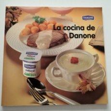 Libros: LA COCINA DE DANONE. 1996. Lote 182965978