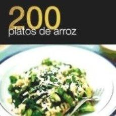 Libros: 200 PLATOS DE ARROZ. Lote 183062531
