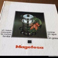 Libros: LIBRO DE RECETAS DE MAGEFESA. Lote 183203351