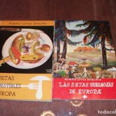 Livres: PAR DE TRATADOS DEL MUNDO DE LAS SETAS, VEALOS. Lote 189207448