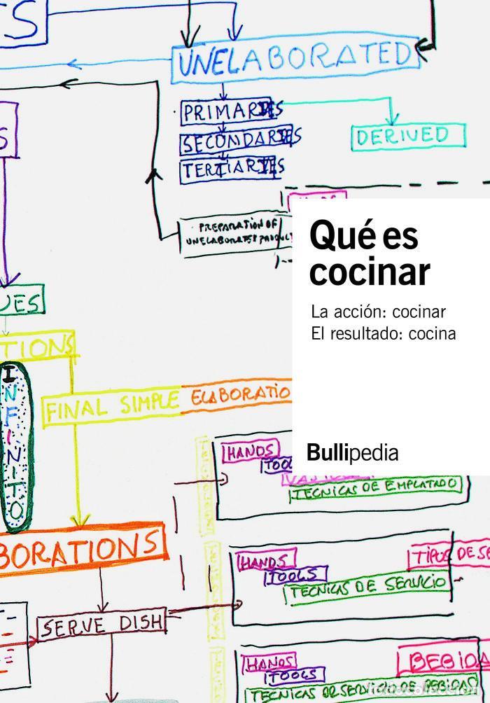 COCINA. QUE ES COCINAR - BULLIPEDIA, ELBULLIFOUNDATION (CARTONÉ) (Libros Nuevos - Ocio - Cocina y Gastronomía)