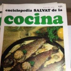 Libros: ENCICLOPEDIA SALVAT DE LA COCINA - Nº 121 - 30/5/1974 - EN PERFECTO ESTADO. Lote 191878188