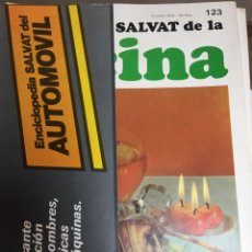 Libros: ENCICLOPEDIA SALVAT DE LA COCINA - Nº 123 - 13/6/1974 - EN PERFECTO ESTADO. Lote 191878271
