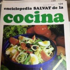 Libros: ENCICLOPEDIA SALVAT DE LA COCINA - Nº 124 - 20/6/1974 - EN PERFECTO ESTADO. Lote 191878390