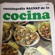 Libros: ENCICLOPEDIA SALVAT DE LA COCINA - Nº 126 - 04/7/1974 - EN PERFECTO ESTADO. Lote 191878682