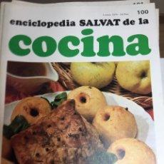 Libros: ENCICLOPEDIA SALVAT DE LA COCINA - Nº 100 - 03/1/1974 - EN PERFECTO ESTADO. Lote 191879926