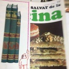 Libros: ENCICLOPEDIA SALVAT DE LA COCINA - Nº17 - 01/6/1972 - EN PERFECTO ESTADO. Lote 192126208