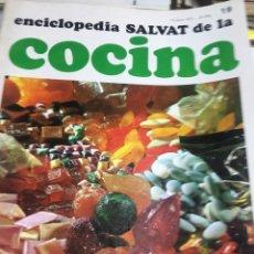 Libros: ENCICLOPEDIA SALVAT DE LA COCINA - Nº19 - 15/6/1972 - EN PERFECTO ESTADO. Lote 192126388