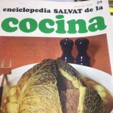 Libros: ENCICLOPEDIA SALVAT DE LA COCINA - Nº24 - 20/7/1972 - EN PERFECTO ESTADO. Lote 192127237