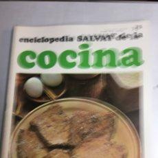 Libros: ENCICLOPEDIA SALVAT DE LA COCINA - Nº 75 - 12/7/1973 - EN PERFECTO ESTADO. Lote 192224198