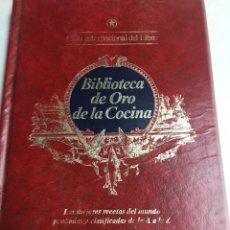 Libros: LIBRO - BIBLIOTECA DE ORO DE LA COCINA. Lote 193060628