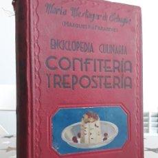 Libros: LIBRO CONFITERÍA Y REPOSTERÍA MARIA MESTAYER. Lote 193646760