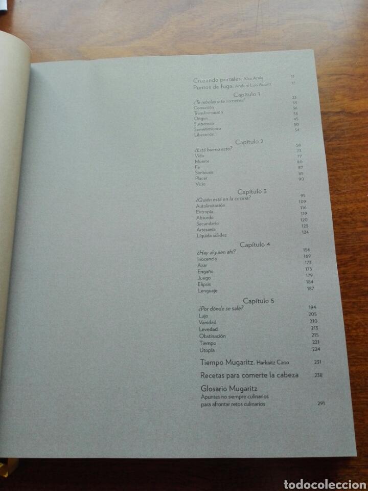 Libros: Mugaritz. Puntos de fuga Libro de Andoni Luis Aduriz. Fotografía. Cocina. Gastronomía. Libro nuevo - Foto 4 - 192657978