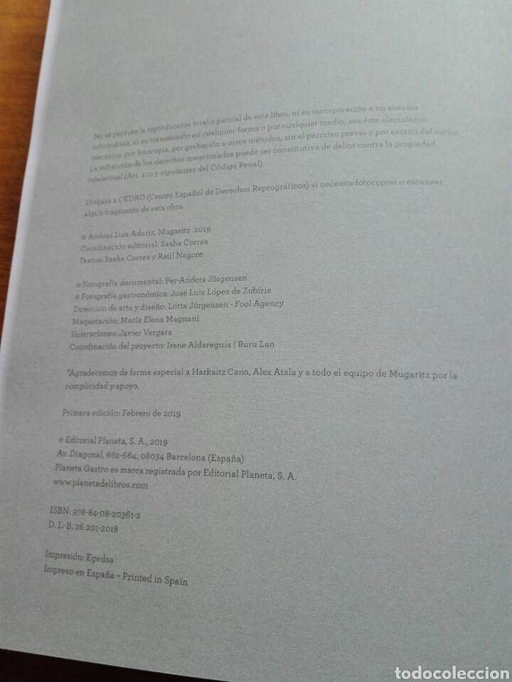 Libros: Mugaritz. Puntos de fuga Libro de Andoni Luis Aduriz. Fotografía. Cocina. Gastronomía. Libro nuevo - Foto 14 - 192657978