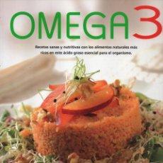 Libros: OMEGA 3: RECETAS SANAS Y NUTRITIVAS - SUSAETA EDICIONES (NUEVO). Lote 198117247