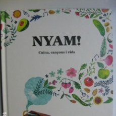 Libros: LIBRO - NYAM CUINA CANÇONS I VIDA - ED. BRIDGE - BETH RODERGAS - NUEVO EN CATALAN COCINA. Lote 199325316