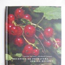 Libros: LIBRO - RECEPTES DE PRIMAVERA SPRING RECIPES - ED. SD EDICIONS - NUEVO EN CATALAN E INGLES COCINA. Lote 199325918