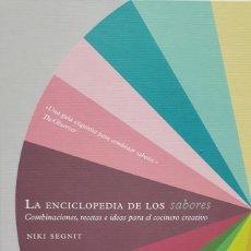 Livros: LA ENCICLOPEDIA DE LOS SABORES. Lote 199761172
