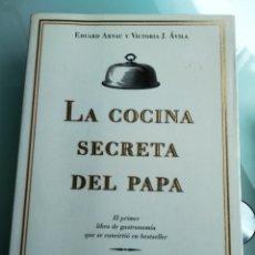 Libros: LA COCINA SECRETA DEL PAPA - ARNAU Y VICTORIA (PLANETA) (NUEVO). Lote 200628430