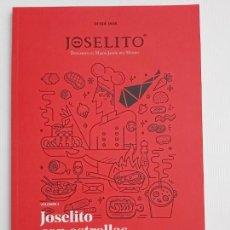 Libros: LIBRO DE RECETAS DE IBÉRICOS DE JOSELITO. VOLUMEN 3.. Lote 202038616