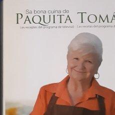 Libros: PAQUITA TOMAS , COCINERA MALLORQUINA. Lote 206438658