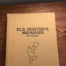 Libros: ELS NOSTRES MENJARS. Lote 209041845