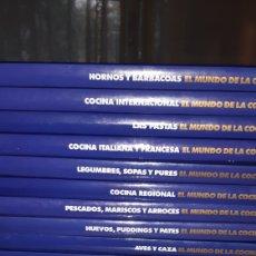 Libros: 14 TOMOS EL MUNDO DE LA COCINA. Lote 210492657