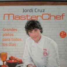 Libros: MASTERCHEF JORDI CRUZ. Lote 212279687