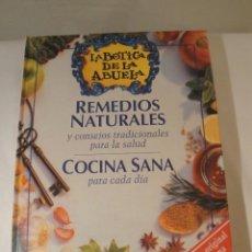 Libros: LA BOTICA DE LA ABUELA. REMEDIOS NATURALES. COCINA SANA. NUEVO CON PLÁSTICO ORIGINAL.. Lote 214465125
