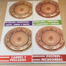 Libros: COCINA FAMILIAR INTERNACIONAL , TOMOS 1 , 2 , 3 , 4. Lote 214820935