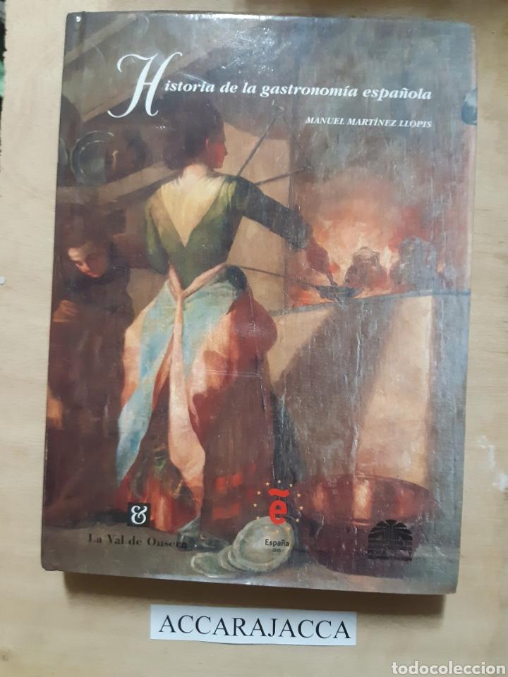 HISTORIA DE LA GASTRONOMIA ESPAÑOLA. LIBRO (Libros Nuevos - Ocio - Cocina y Gastronomía)