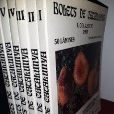 Libros: LÁMINES BOLETS DE CATALUNYA (VOL. I - VI). Lote 221006036