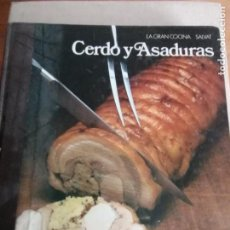 Libros: LA GRAN COCINA SALVAT EDITORES 1982 - CERDO Y ASADURAS 1991 378PP. Lote 225729405