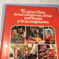 Libros: EL GRAN LIBRO DE LAS CONSERVAS, DE LAS CONFITURAS Y DE LA CONGELACIÓN. ED. PLANETA. Lote 227734485
