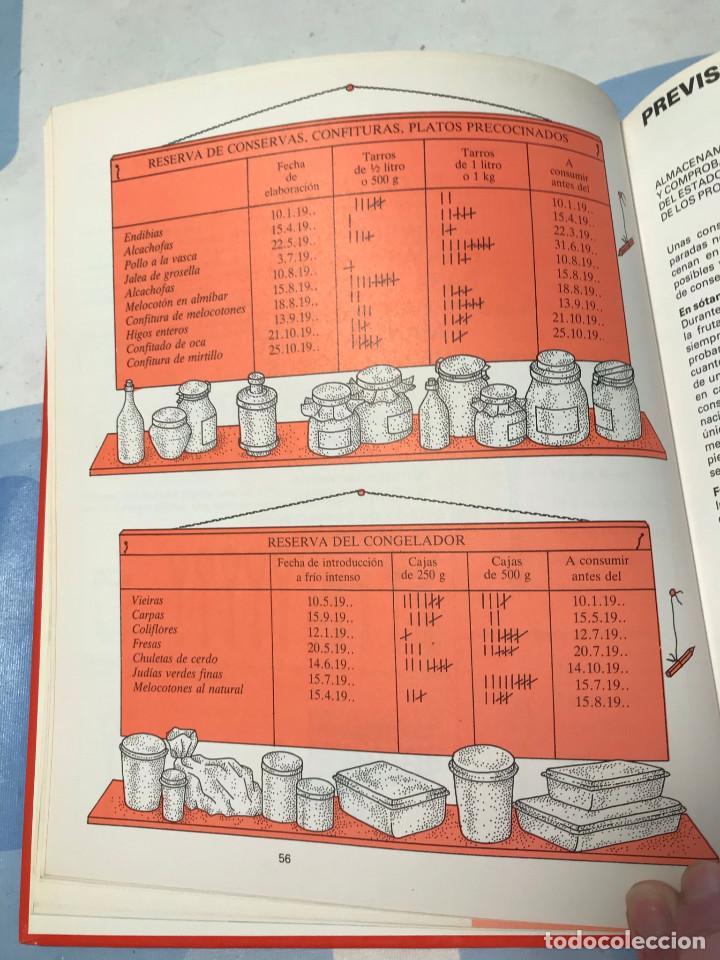 Libros: El gran libro de las conservas, de las confituras y de la congelación. Ed. Planeta - Foto 4 - 227734485